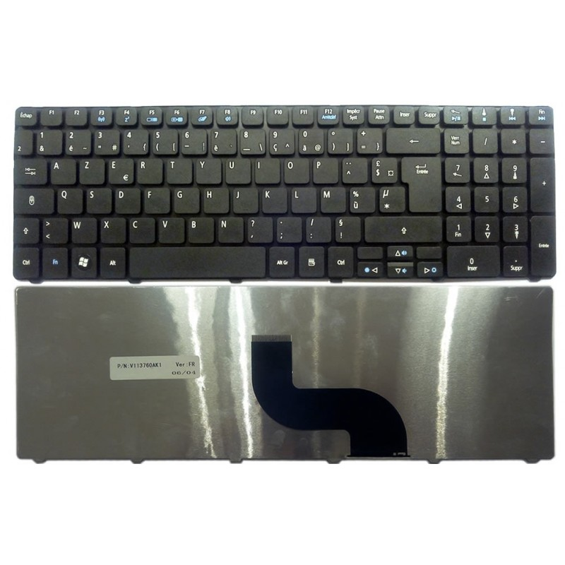 azerty clavier pour pc portable packard bell easynote tm85