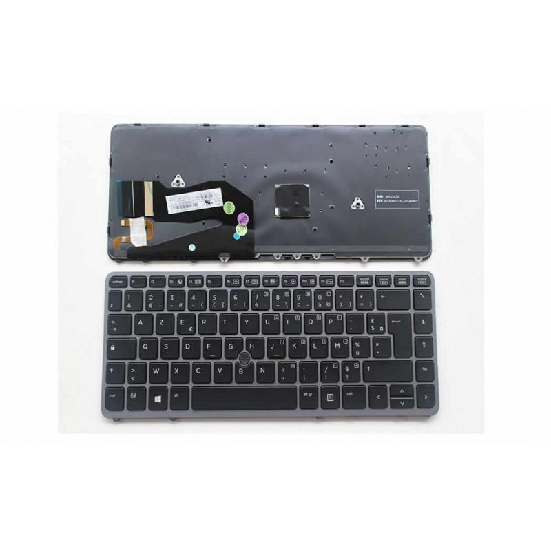 azerty clavier pour pc portable hp elitebook 840g1 840g2