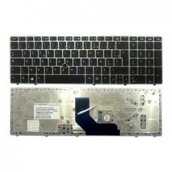 clavier hp elitebook 8560p 8560b 8570p