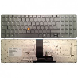 clavier hp elitebook 8560w 8570w