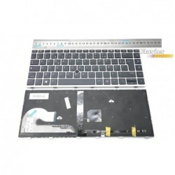 clavier azerty pour hp elitebook 745g5 846g5