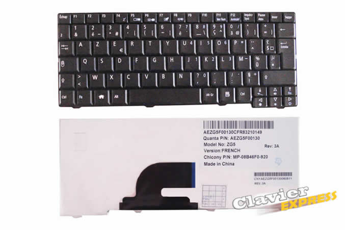 clavier acer aspire one